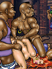 Interracial bdsm porn