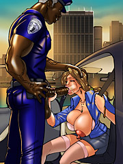 Fuck me with that big black cock by kaos comics at megainterracialcomics.com