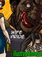 Wife pride by Illustrated interracial