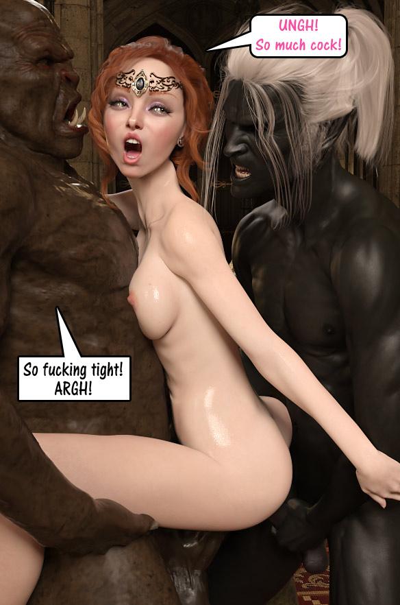 One shot 3 Queen Tessa by Dark Lord
